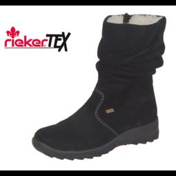 RIEKER Z7171-01 FEKETE CSIZMA