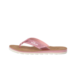 S.OLIVER 27150-20 PINK PAPUCS