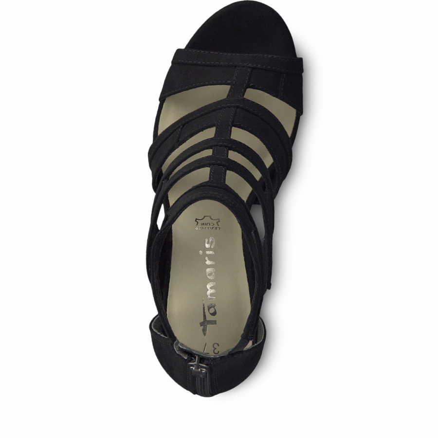 0e967762675b TAMARIS 28039-32 FEKETE SZANDÁL 39 - Tamaris - Csizmák, cipők ...